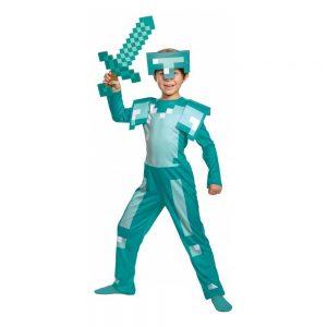 Minecraft Armor Barn Maskeraddräkt - Small