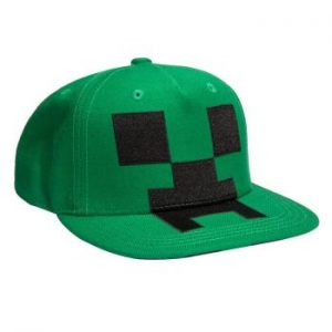 Minecraft Creeper Mob Youth Hat One-size