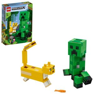 LEGO Minecraft BigFig Creeper och ozelot 21156
