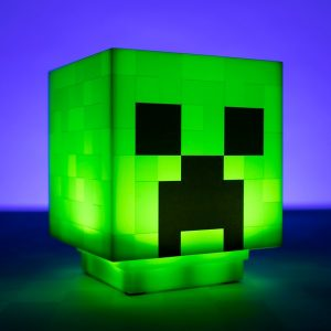 Minecraft Creeper Lampa