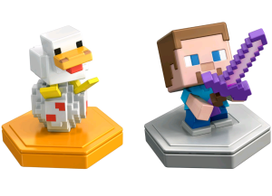 Minecraft - Boost Mini Figure 2-Pack - Steve & Companion (GKT42)