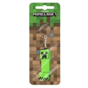 Minecraft Creeper Anatomy Flip Keychain