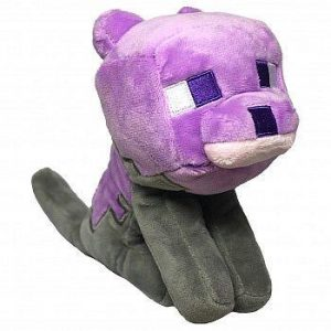 Minecraft Earth Happy Explorer Dyed Cat Plush