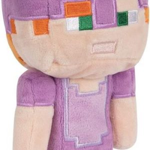 Minecraft Happy Explorer Alex In Creeper Costume Plush