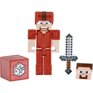 Minecraft , Comic Maker Actionfigur - Steve