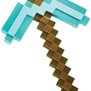 Minecraft - Diamond Pickaxe Plastic Replica - 40 cm