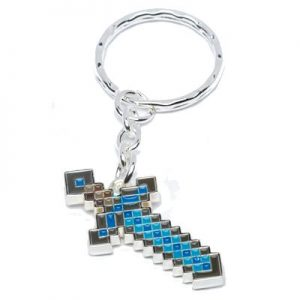 Minecraft Diamond Sword Nyckelring