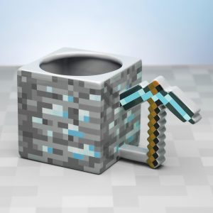 Minecraft Pickaxe Mugg
