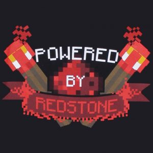 Minecraft Powered By Redstone T-Shirt