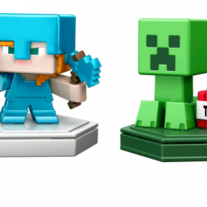 Minecraft Boost Mini Figure 2-Pack Alex and Creeper