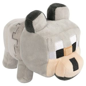 Minecraft Happy Explorer Untamed Wolf Plush