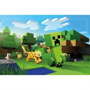Minecraft , Maxi Poster - Ocelot Chase