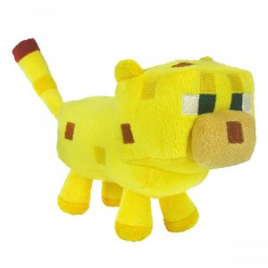 Minecraft Yellow Ocelot - Plush Toy 18 cm