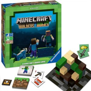 Minecraft - Builders Biomes - The Board Game (English) (PEG26132)