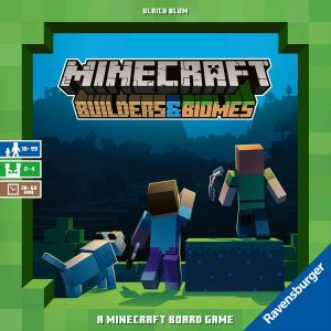 Minecraft: Builders and Biomes - The Board Game - Brädspel