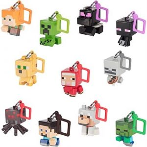 Minecraft Bobble Mobs Nyckelring
